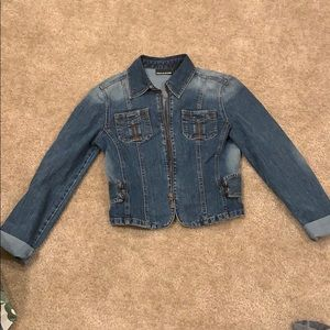 Women's DKNY denim jean jacket